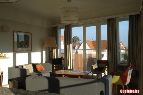 A louer appartement 5 chambres (10 personnes) Duinbergen