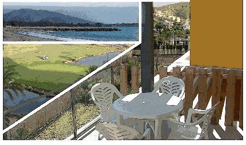 Costa de Almeria. Appartement 110m2 dans golf de Vera