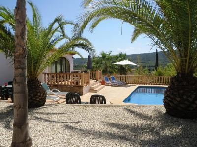 Javea - Costa Blanca, magnif. villa 4 ch. pisc. privée wifi