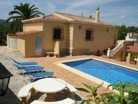 JAVEA sit.idyllique, villa 5 chambres à 350 m. mer