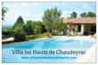 Villa dans le Gard avec piscine privée, chauffée.