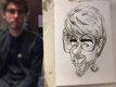 Caricaturiste pour anniversaire (étudiant)