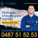 Plombier chauffagiste agréé pas cher |  0487 51...