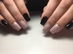 Pose d'ongles en gel (chablon )
