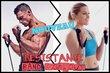 Resistance band workout coaching